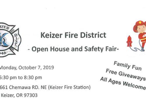 Keizer Fire District – Open House and Safety Fair- | Distrito de Bomberos de Keizer – Casa abierta y feria de seguridad